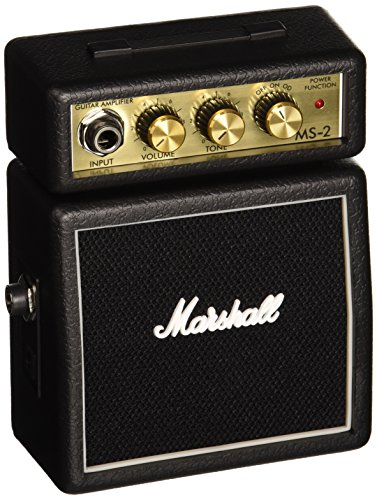 Marshall MS2 Battery-Powered Micro Guitar Amplifier (Portable Guitar Amp)