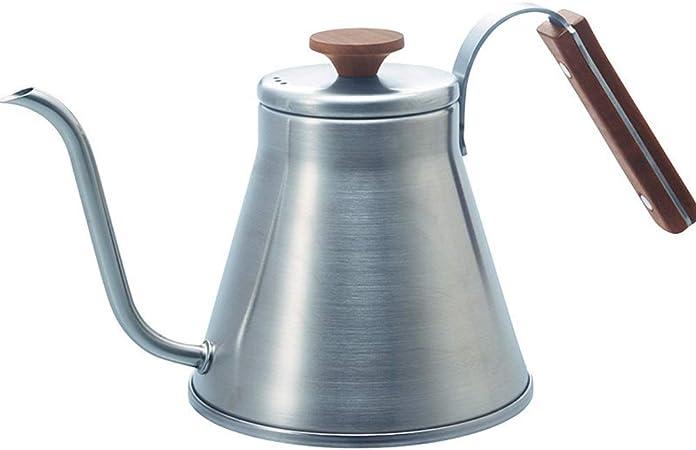 La Tetera De Cuello De Cisne Acero inoxidable lavado a mano Slender Articulado Cafetera aptas for
