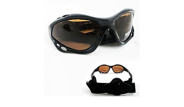 66f921faee5 Amazon.com  Polarized Sunglasses Goggles Fishing Boating Water Sport  Kitesurfing Headband  Sports   Outdoors