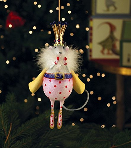 Patience Brewster Mouse King Christmas Ornament