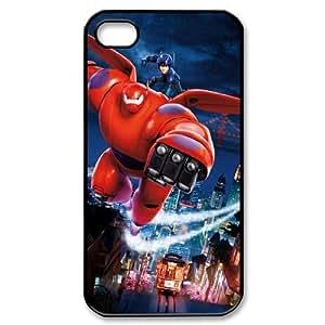 Big Hero 6 YT0065153 Phone Back Case Customized Art Print Design Hard Shell Protection Iphone 4,4S