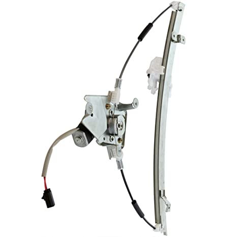 cciyu Front Left Drivers Side Power Window Lift Regulator With Motor Assembly Replacement Replacement fit for 2006-2007 Jeep Liberty