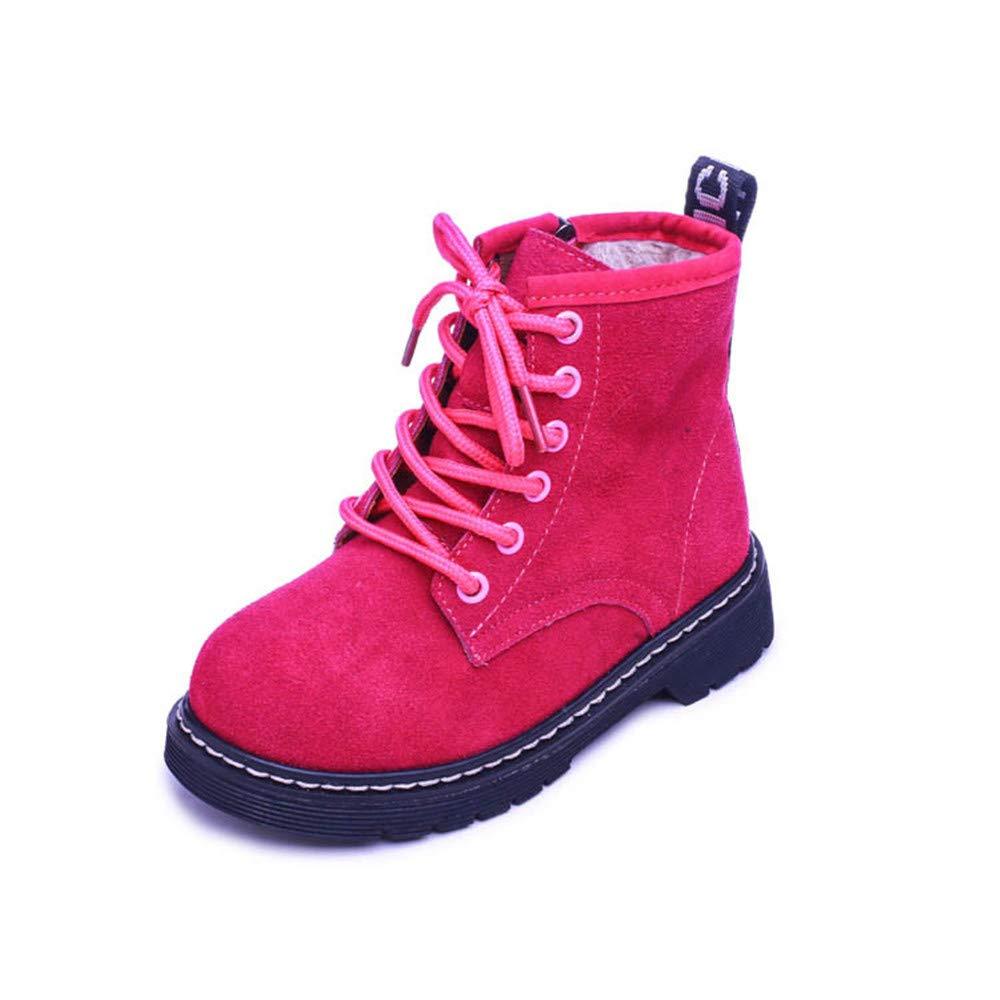 Gusha Joker Martin Boots Boys and Girls Snow Boots Warm Boots