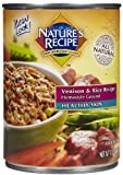 Nature's Recipe Canned Dog Food for Adult Dog, Healthy Skin Venison and Rice Recipe (Pack of 12 13.2 Ounce Cans), My Pet Supplies