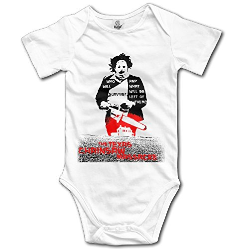 Price comparison product image Novelty Baby Onesie Texas Chainsaw Massacre Splatter Subway Romper Onesie Jumpsuit