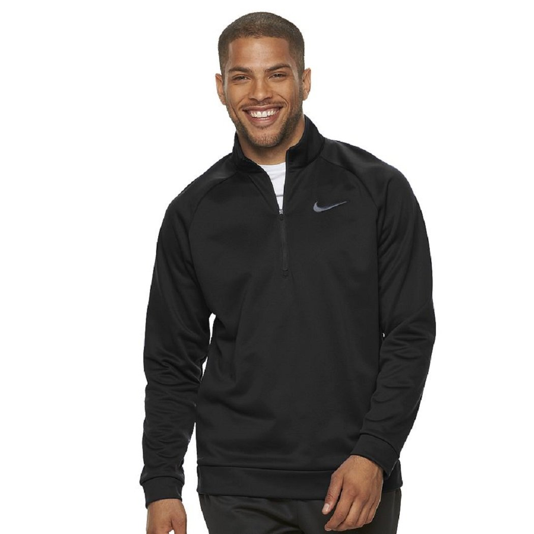 Men's Nike Therma-FIT Training Quarter-Zip Top, XL by NIKE