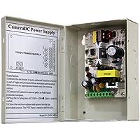 4 Channel Power Supply Distribution Box CCTV - 12v DC - 2amp