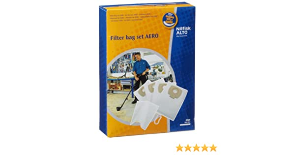 Nilfisk Aero Series Replacement Dust Bags