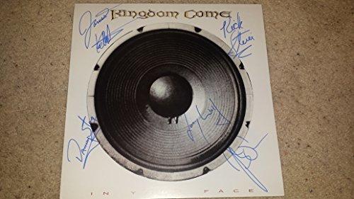 (KINGDOM COME classic 80's rock signed