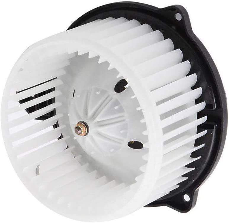 AC Heater Blower Motor with Fan for 2002-2008 Dodge Ram 1500 2500 3500, 2002 2003 2004 Jeep Grand Cherokee Replaces # 5012701AB, 5096255AA, 5096256AA, PM9198, 700012