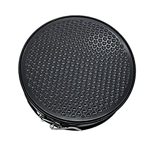BakeWarePlus 9 Inch Springform Cake Pan Nonstick Carbon Stainless Steel Mold