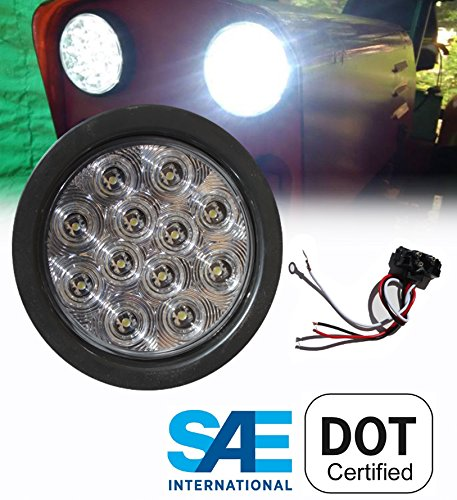 4 Inch Round Clear Led Lights in Florida - 7
