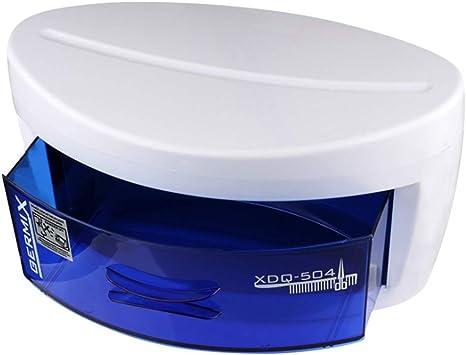 Esterilizador UV Cajón de una capa Desinfección Caja Móvil portátil Salón de belleza Spa Tatuaje Uñas Herramientas para el cabello Gabinete Cajón: Amazon.es: Belleza