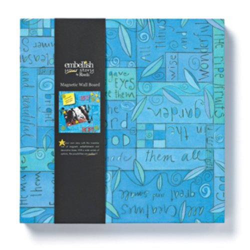 Embellish Your Story Blue Collage Magnetic Memo Board by Abby Press