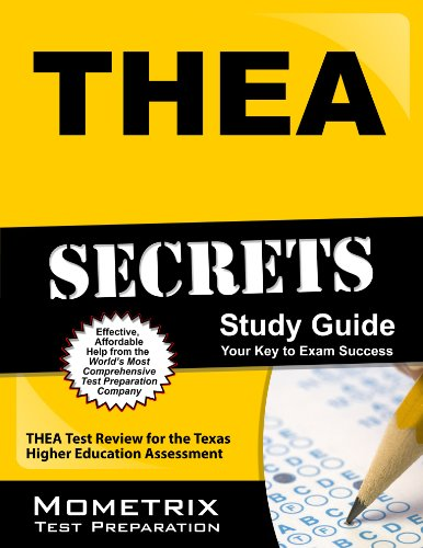 THEA Secrets Study Guide: THEA Test Review for the Texas Higher Education Assessment Pdf