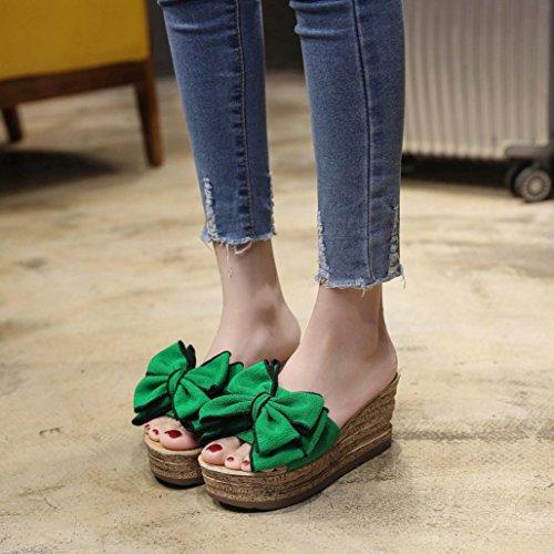 JiaMeng sandalias color de mujer verano s Zapatos FFnB1Exq