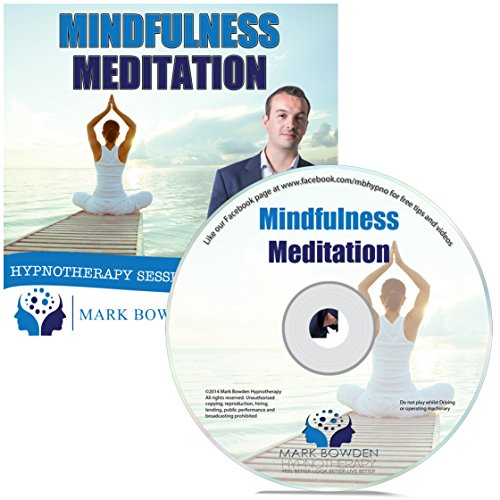Price comparison product image Mindfulness Meditation Self Hypnosis CD - A Guided Relaxation CD / Guided Meditation CD to help you relax