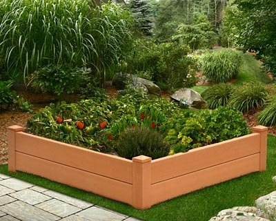 New England Arbors Chelsea Raised Garden Bed