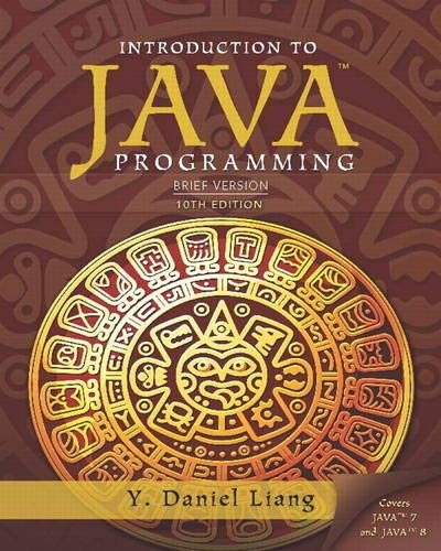 Introduction to Java Programming: Brief