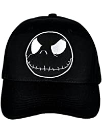 Jack Skellington Negative Hat Baseball Cap Alternative Clothing Nightmare Before Christmas
