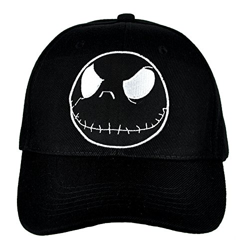 Jack Skellington Negative Hat Baseball Cap Alternative Clothing Nightmare Before Christmas
