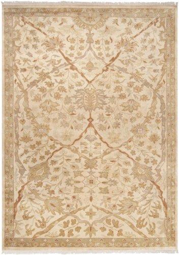 Surya Adana Wool - Surya Traditional Round Area Rug 8' Cream Adana Collection