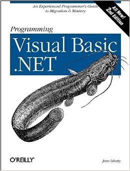 Programming Visual Basic .NET, 2nd Edition: Jesse Liberty ...