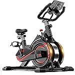51dtSnDIwTL. SS150 ZoSiP Spin Bike Ultra-Silenzioso Sport Magnetica Cyclette for Uso Domestico al Coperto Biciclette dimagrisce apparecchiatura (Color : Black, Size : 105x50x102cm)