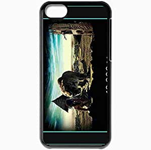 Personalized iPhone 5C Cell phone Case/Cover Skin 10000 BC Black