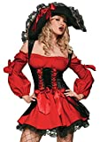 Leg Avenue Women's Vixen Pirate Wench Costume