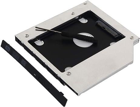DY-tech 2nd SATA Hard Drive SSD HDD Caddy for ASUS N550 N550JA N550JV N750JV UL80JT UL80V UL80