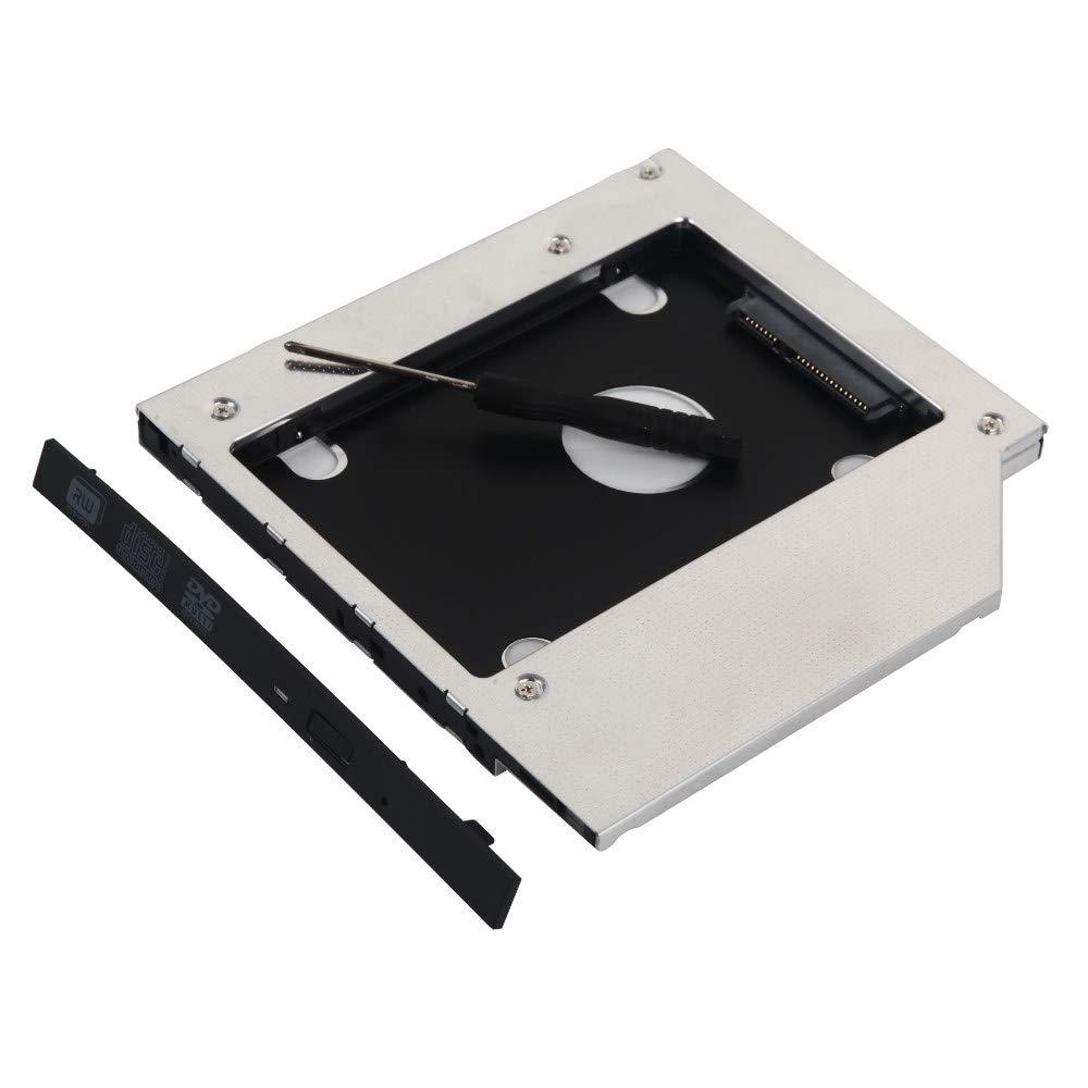 DeYoung 2 nd HD SSD SATA disco duro Caddy Adaptador para HP dv3500 ...