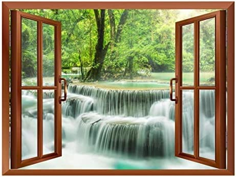 Waterfall in Thailand Removable Wall Sticker/Wall Mural - 24