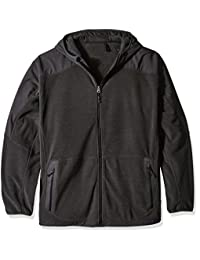 Champion mens big Champion Men's Hooded Textured Fleece Jacket-big Sizes