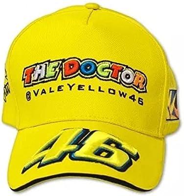 Gorra Valentino Rossi VR46 Moto GP Amarilla: Amazon.es: Deportes y ...