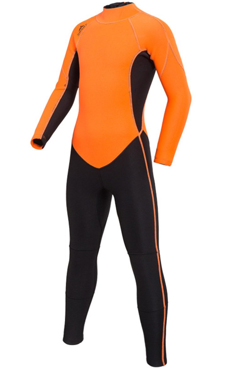 b74408909d Cokar Kids Neoprene Full Wetsuit 2MM One Piece Swimsuit for Boys Girls UV  Protection for Swim