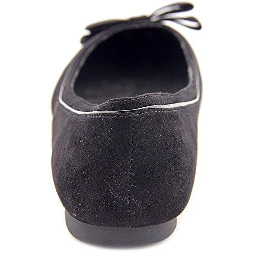Karen Scott Chandii Women Round Toe Synthetic Ballet Flats Black 3PabqG