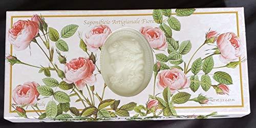 Saponificio Artigianale Fiorentino's Rose Garden Cameo 3 x 4.40 Oz. Soap Gift Set From ()