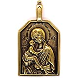 Pendant : OUR LADY / Virgin Saint Mary / Our Lady MIRACULOUS : Religious Medal / Necklace