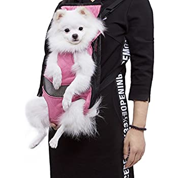 Amazon.com : Dog Carrier | Comfortable Legs Out Front Dog Carrier ...
