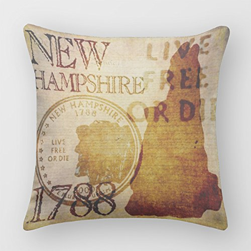 Follies Pillow Case Cover Square Hampshire Old Decorative Decor