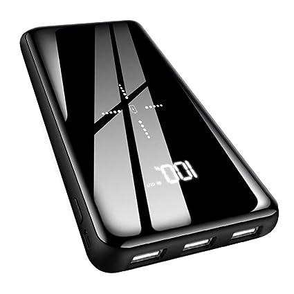 Amazon.com: Cargador portátil inalámbrico de 25000 mAh ...