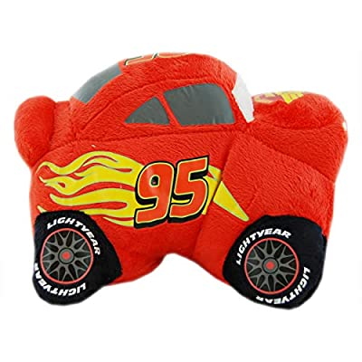 Pillow Pets, Pee Wees, Disney/Pixar Cars 2 Movie, Lightning McQueen, 11 Inches: Toys & Games