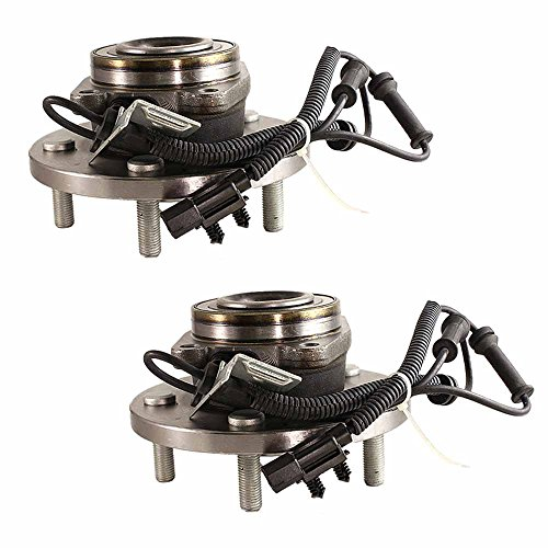 [513273 x 2 ( Set of 2 ) Hub Assembly Brand New Front Left and Right Side Fit 08 - 11 TownCountry, 08 - 11 GRAND CARAVAN, 09 - 12 Routan ( 5 Lug )] (Country Front Hubs Bearings)