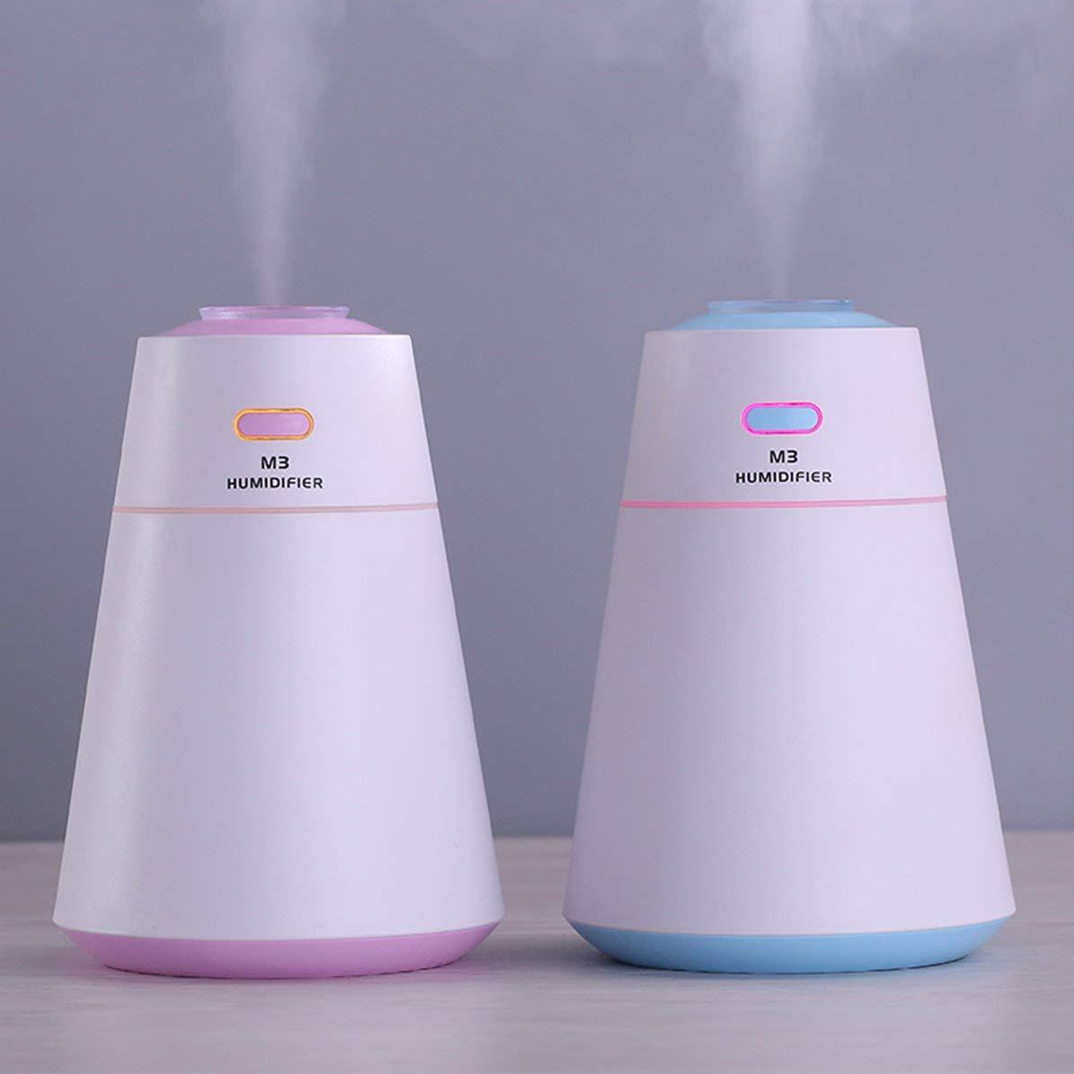 Diffuseur dhuile essentielle dhumidificateur dair portatif dUSB avec l/épurateur dair color/é de LED pour le bureau /à domicile Aromatherapy