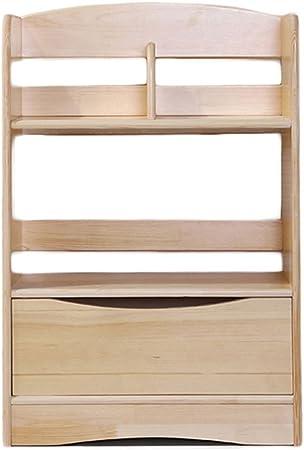 PLAYBOY 125805NBS Scaffale con 7 scomparti e 2 cassetti Nero 100 x 179 x 35 cm Noce