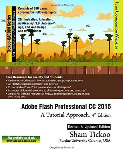 Adobe Flash Professional CC 2015: A Tutorial Approach by Cadcim Technologies