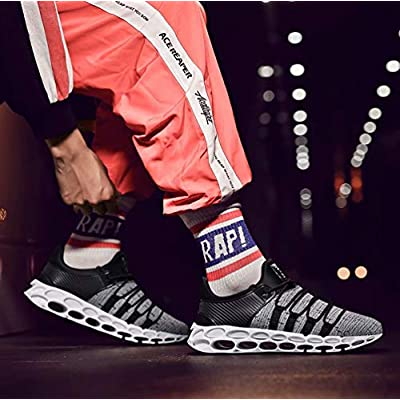 Sports Shoes Breathable Mesh Casual Fashion Slip On Blade Sneakers Cushioning Walking Shoe for Men and Women | Walking