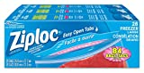 Image of Ziploc Freezer Bags Large with Double Zipper Seal and Easy Open Tabs - 84 Count (3x28ct) Value Pack