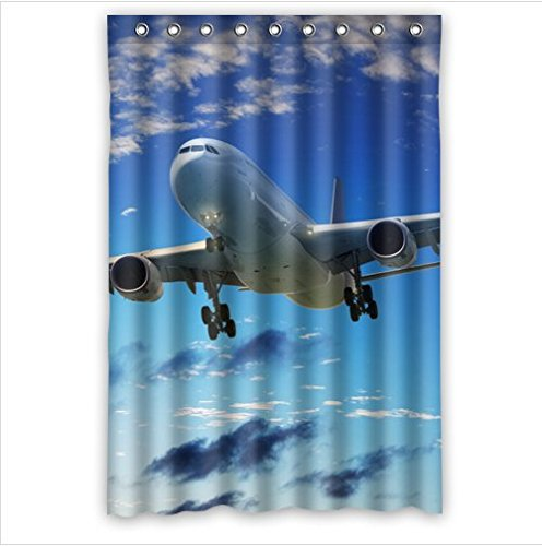 Amazon Personalized Cool Airplane Designclassic Airplanes Art Bathroom Waterproof Polyester Fabric Shower Curtain 48 X 72 Home Kitchen